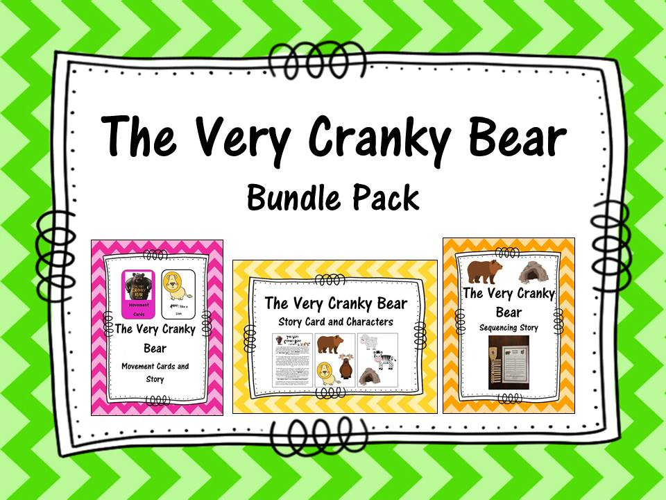 The Very Cranky Bear Bundle Pack