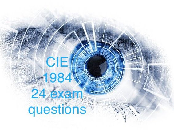 CIE 1984 24 exam papers