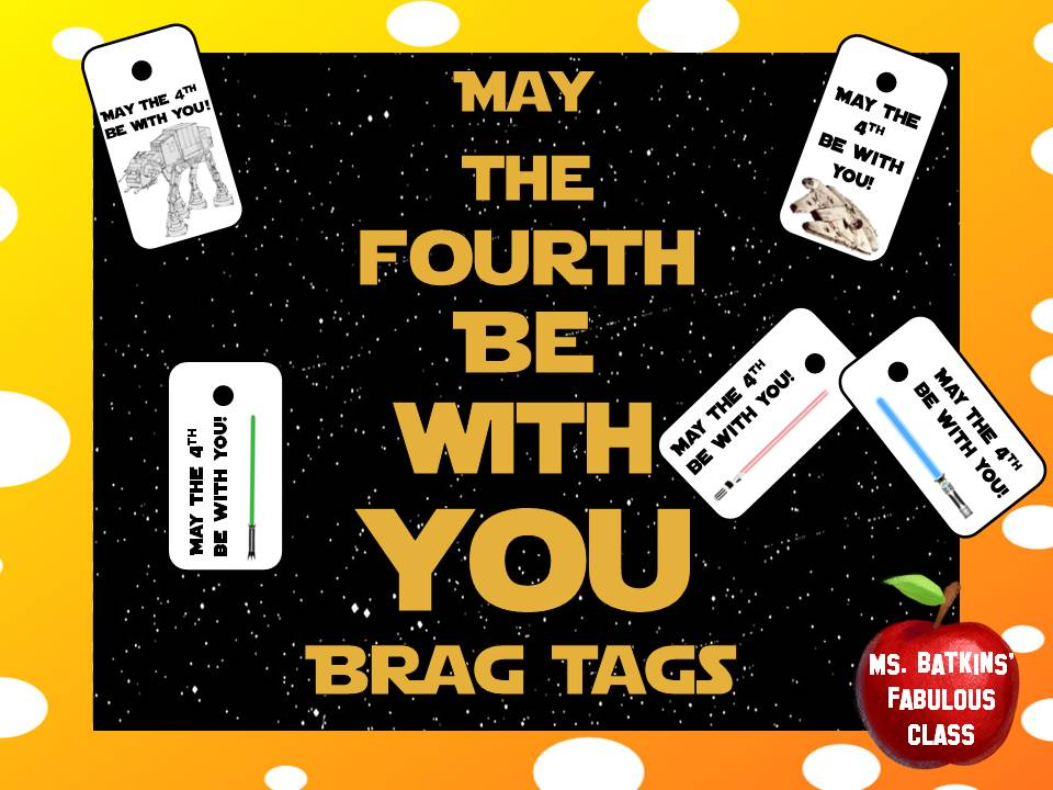 May the 4th Holiday Brag Tags