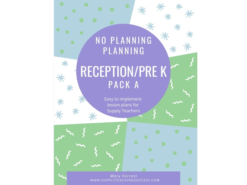 Supply Teaching Lesson Plans - Reception