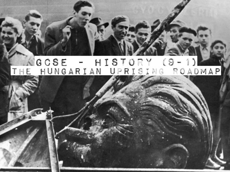 GCSE History(9-1)  - Cold War - The Hungarian Uprising Roadmap