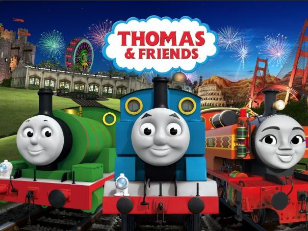 Easy Thomas and Friends Theme Song for the Keyboard