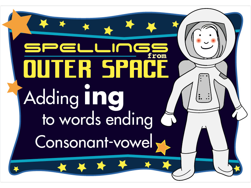 Year 2 Spellings Adding ING to words ending with consonant-vowel
