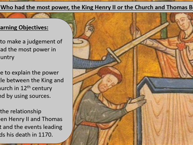 Medieval Monarchy vs. The Medieval Church
