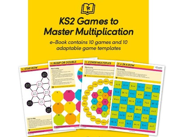 KS2 Games to Master Multiplication (10 Games + 10 Templates)
