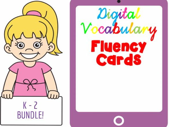 KS1 Digital Vocabulary Fluency Cards