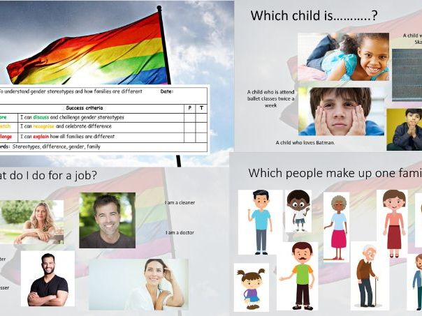Gender Inclusive Lesson for SEN pupils - LGBT Month