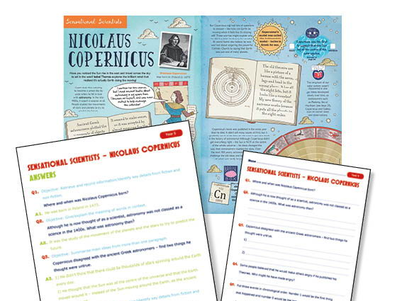 Year 5 Guided Reading Nicolaus Copernicus