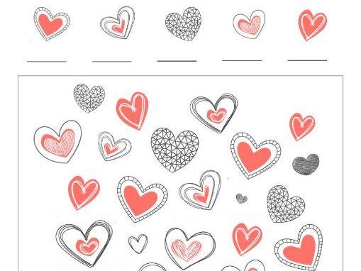 Valentines Heart I Spy