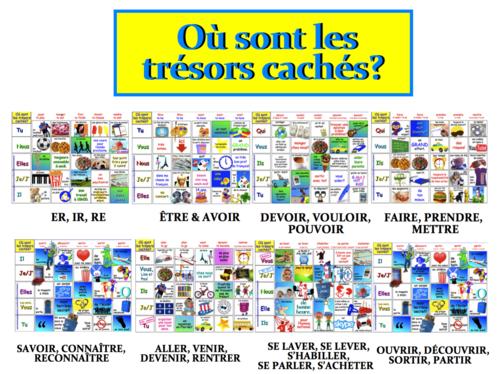 FRENCH: 11 Où sont les trésors