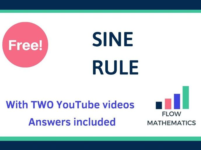 Sine Rule - With TWO Youtube Videos