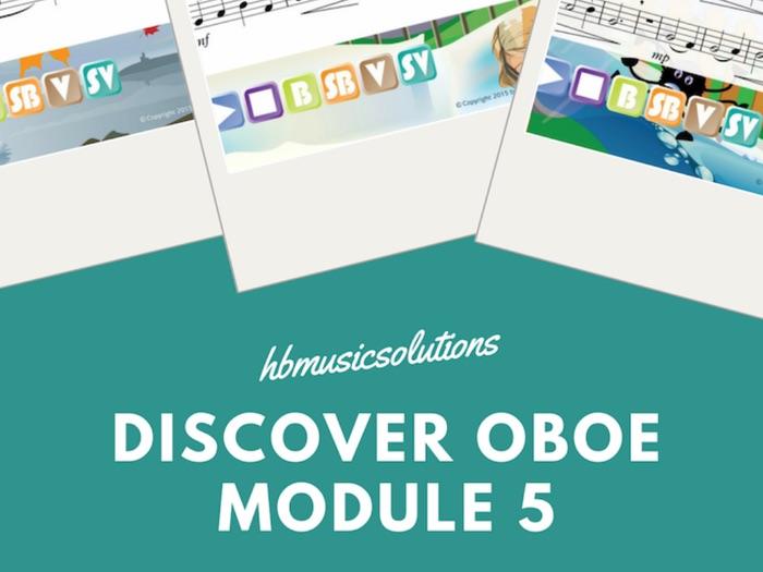 Discover Oboe Unit 5 Interactive Module