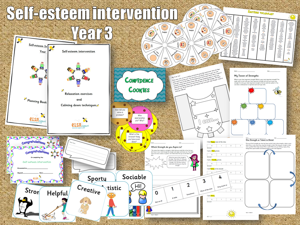 Self-esteem Year 3 intervention