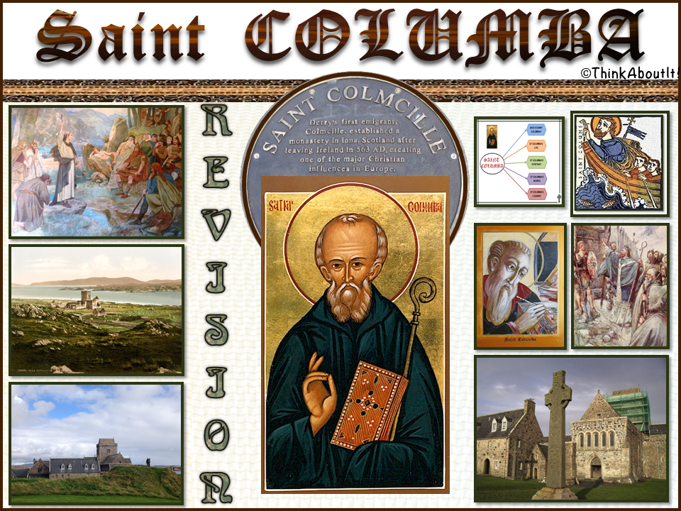 Christianity: St. Columba Revision