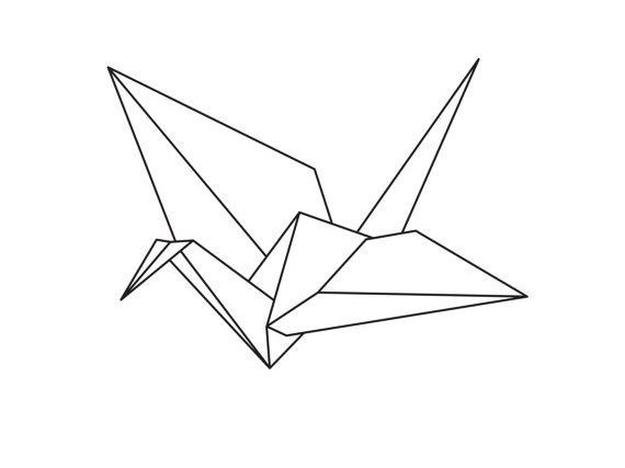 How to make a paper crane - World Peace Day
