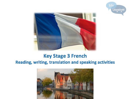 Key Stage 3 French - Where I live - New GCSE-style activities