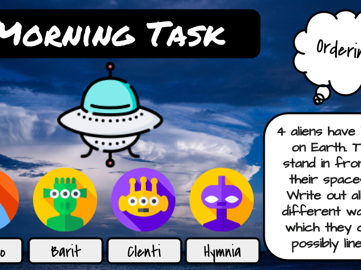 Morning Task Activity Pack