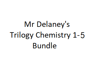 AQA Trilogy Science (9-1) Chemistry 1-5 (Paper 1) Broadsheets