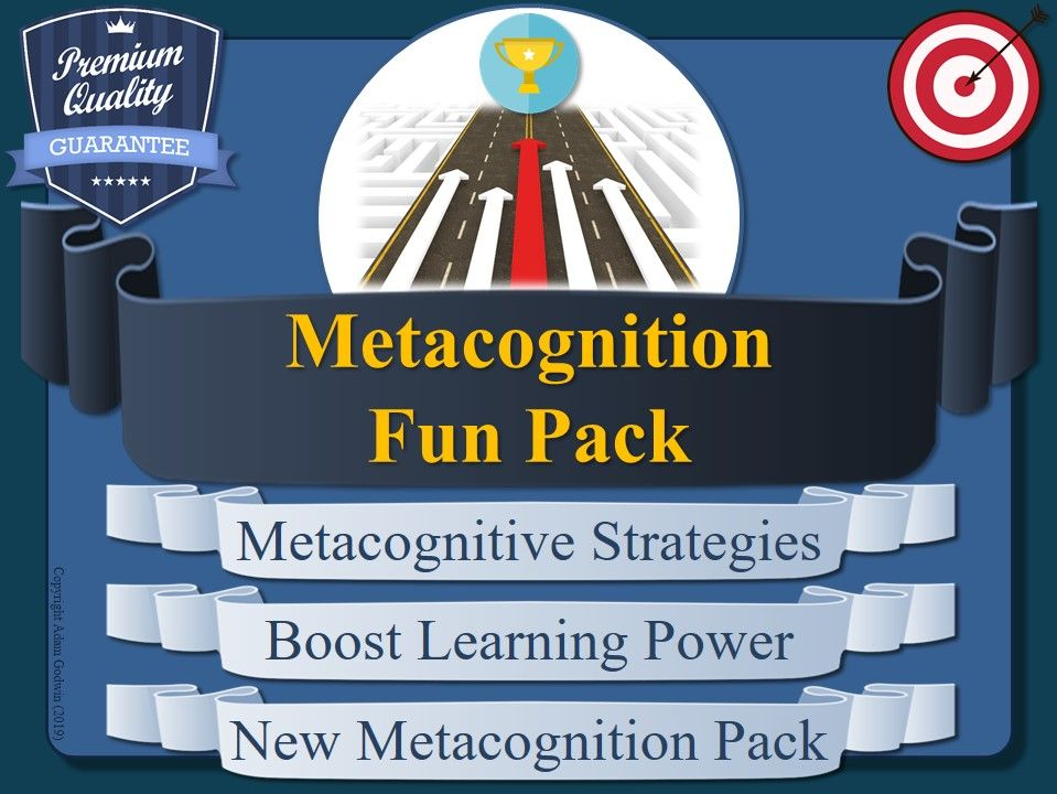 METACOGNITION - FUN PACK!