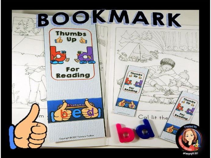 Letter Reversal Bookmark