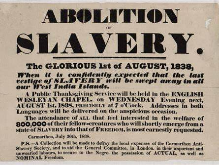 Slavery - Abolition of slavery