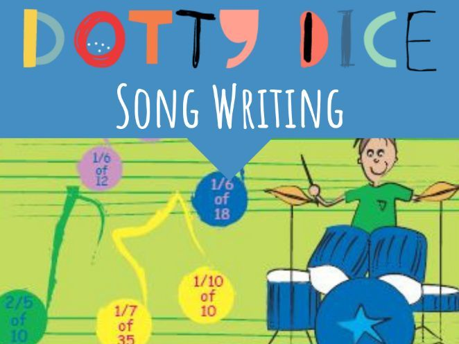Numeracy Board Game - Song Writing - Advance Additive - Finding Fractions