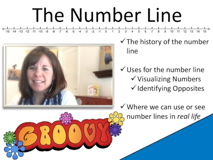 The Number Line (Part 1):  Opposites