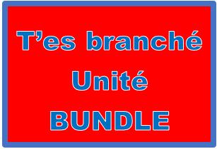 T'es branché 1 Unité 7 Bundle