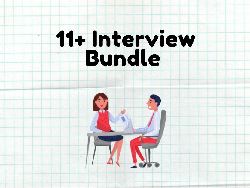 11 Plus Interview Bundle