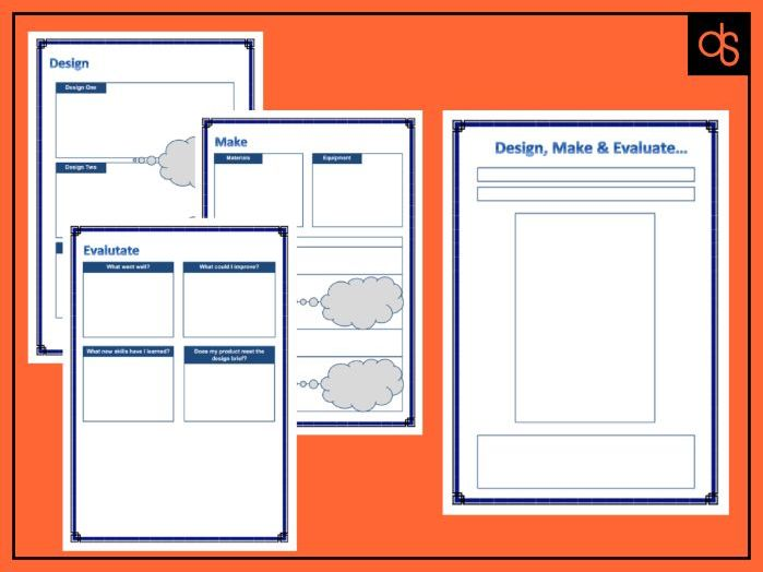 Design Make Evaluate. KS2 DT Project Booklet