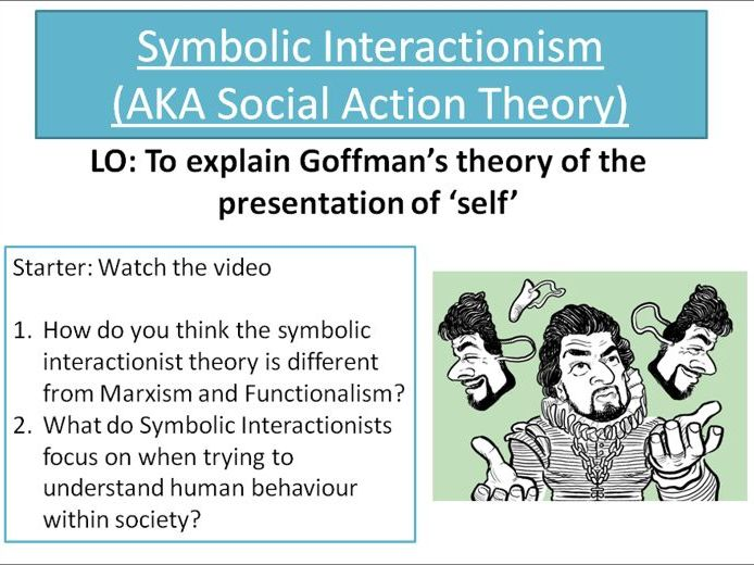 AQA A level sociology- Introduction to interactionism