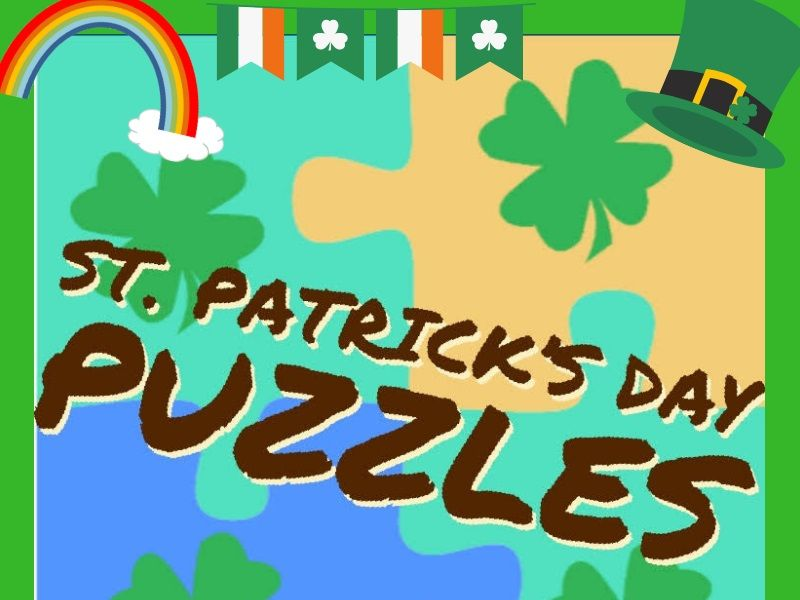 Puzzles St. Patrick's Day Theme