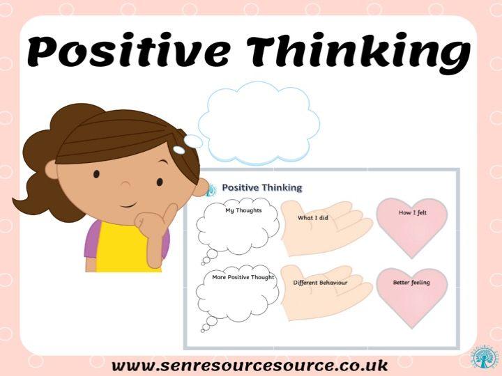Positive Thinking Worksheet
