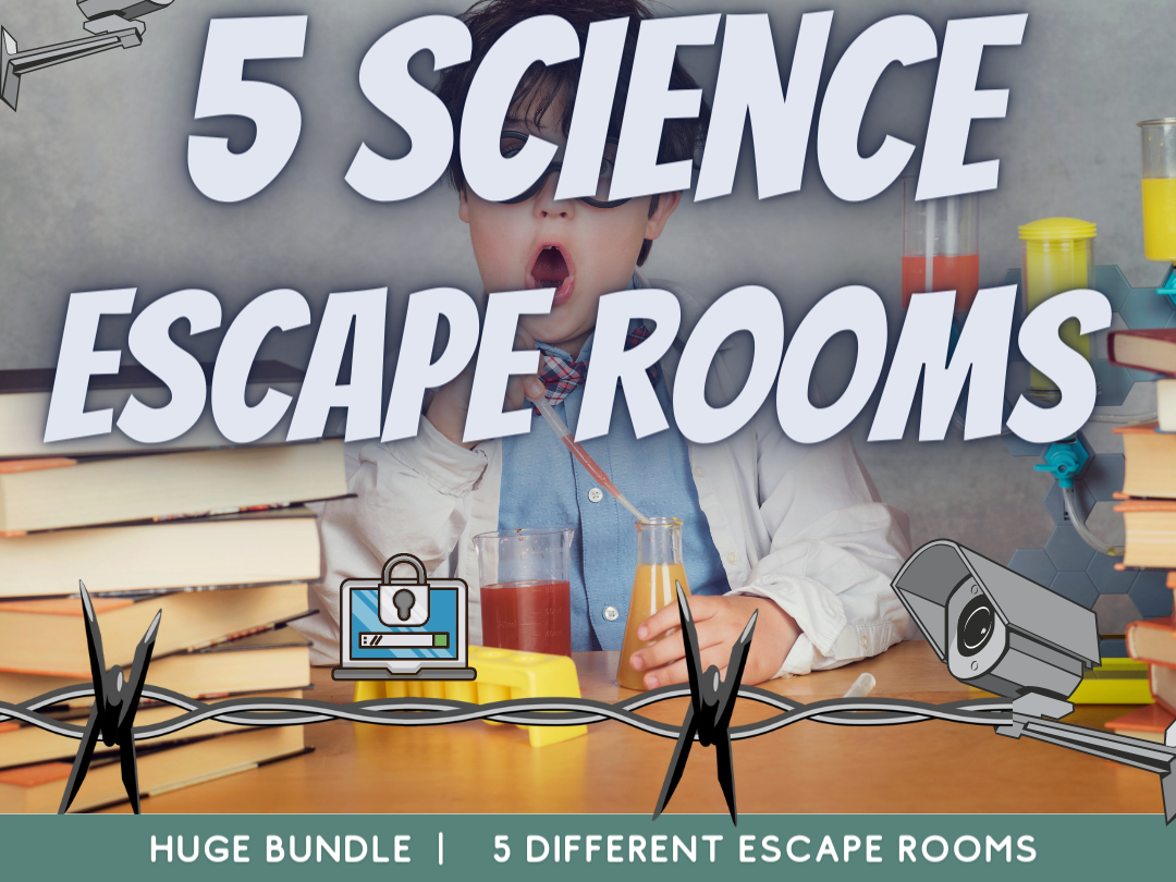 Science End of Term Escape Rooms