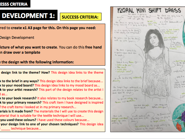 NCFE - Craft - Success Criteria - Unit 1, 2 and 4