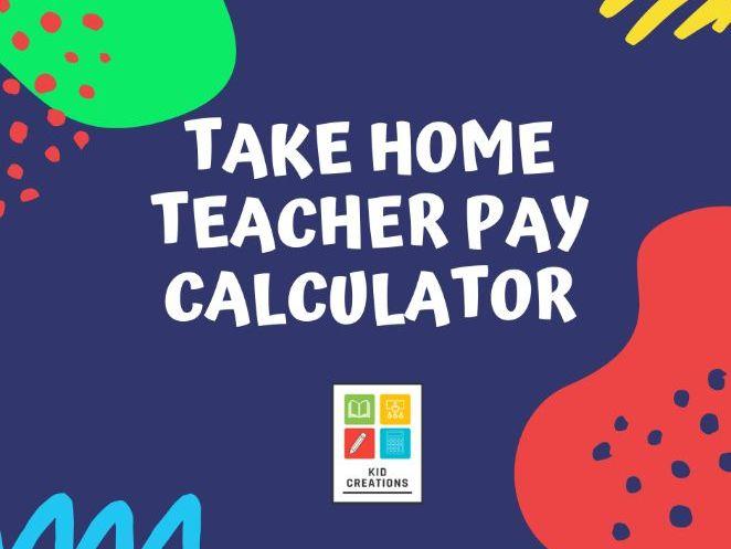 Teacher Pay Calculator