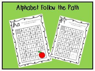 Alphabet Follow the Path