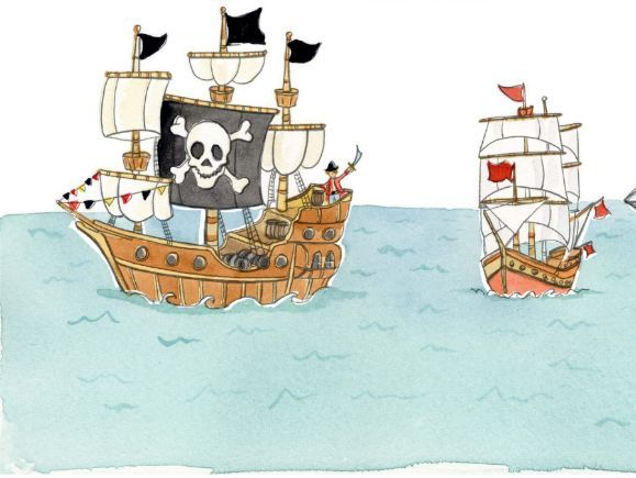 Book Cover Design BB Pirate Activity