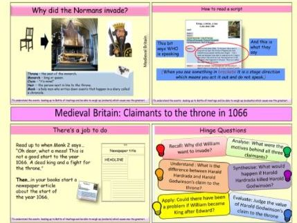 Medieval Britain: Who had the best claim to the throne in 1066?