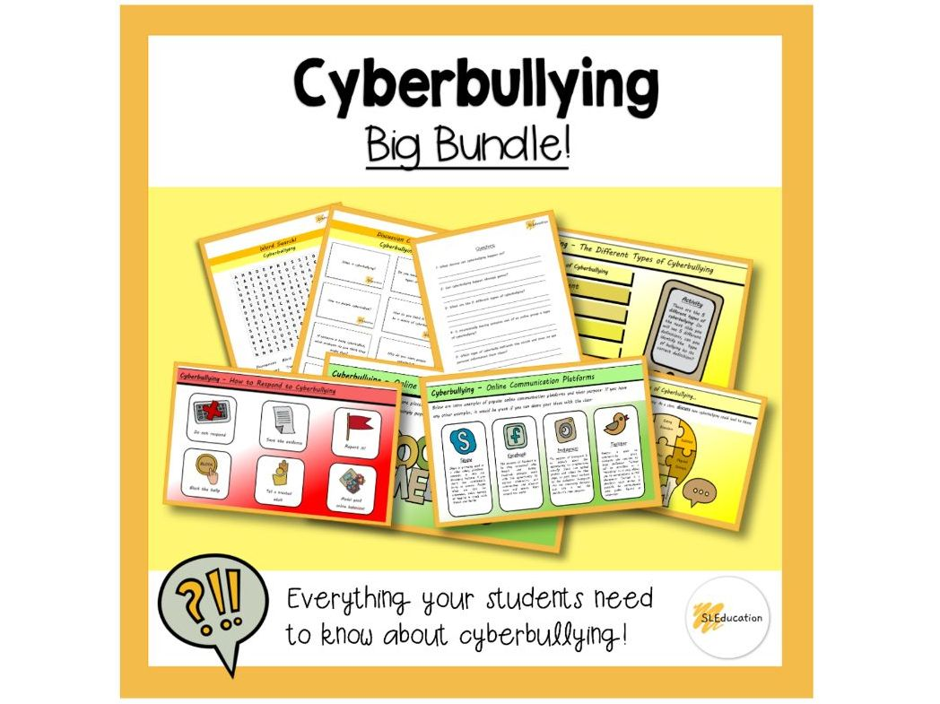 Cyberbullying | Big Bundle | KS3-4 | PSHE