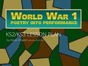 WW1 Poetry Into Performance Lesson Plan