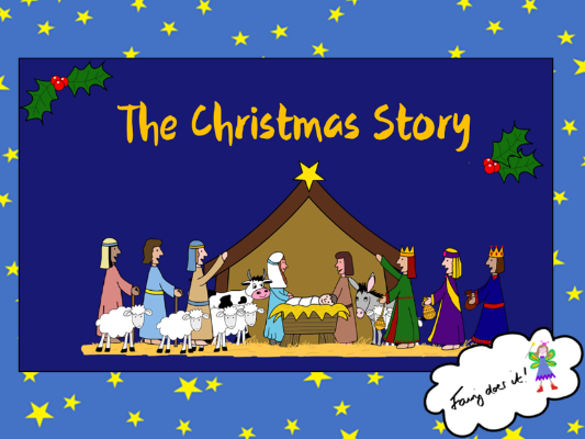 The Christmas Story PowerPoint Presentation