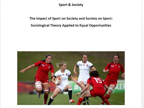 AQA PE New A Level. Sport & Society - Sociological Theory & Equal Opportunities. Pupil Workbook.