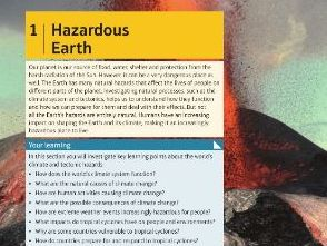 GCSE Geography - Edexcel - 1B Earthquakes overview / revision (Hazardous Earth)