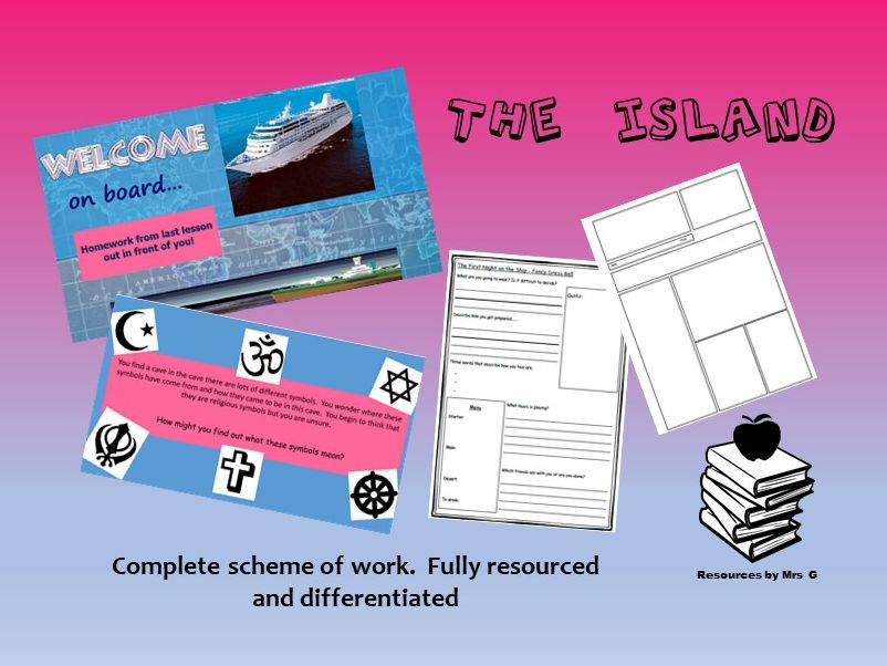 Religious Studies - The Island Complete Scheme of Work Fully Resources and Differentiated