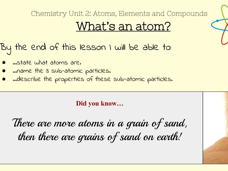 Atoms and Atomic Structure - KS3