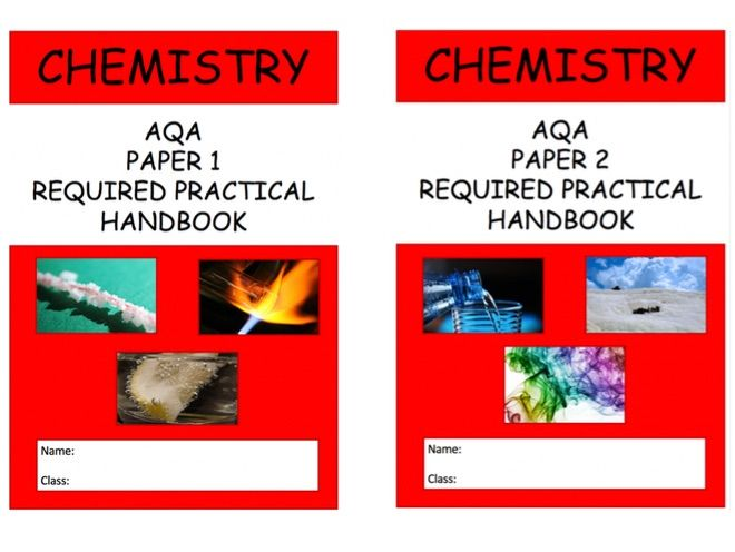 NEW AQA Chemistry Required Practical Handbook 9-1