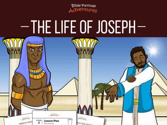 The Life of Joseph Activity Book