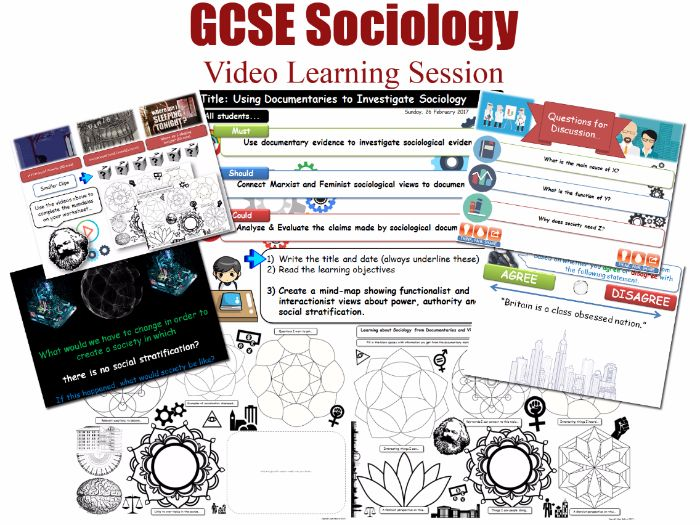 Video Learning Session - SOCIAL STRATIFICATION - L20/20 [ WJEC EDUQAS GCSE Sociology ]