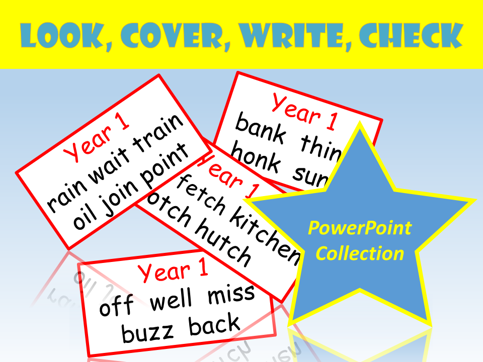 Y1 whole class look cover write check by realllanguages teaching y1 whole class look cover write check by realllanguages teaching resources tes ccuart Choice Image